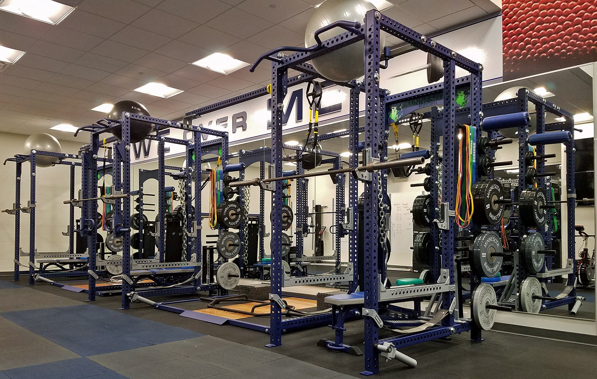 Minnesota Timberwolves Weight Room