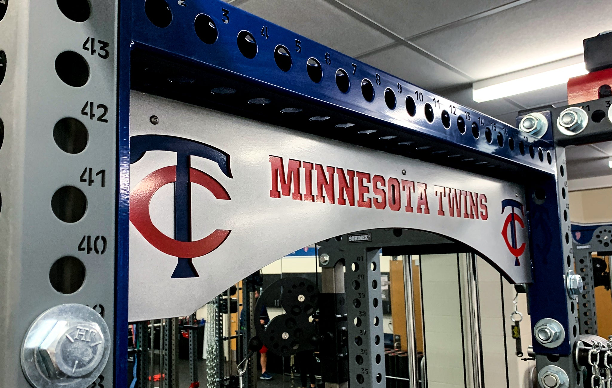 Minnesota Twins strength training