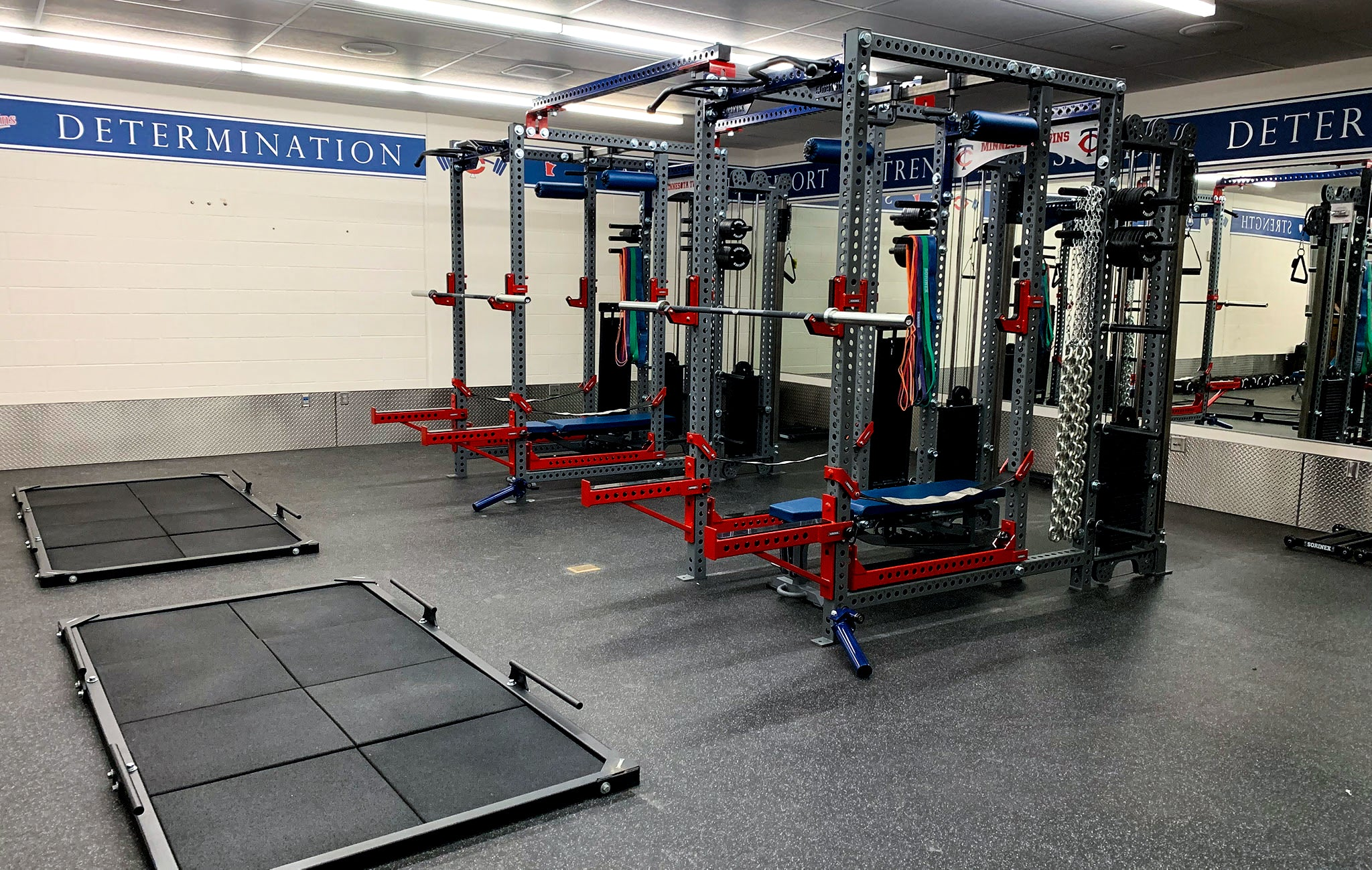 minnesota twins power racks