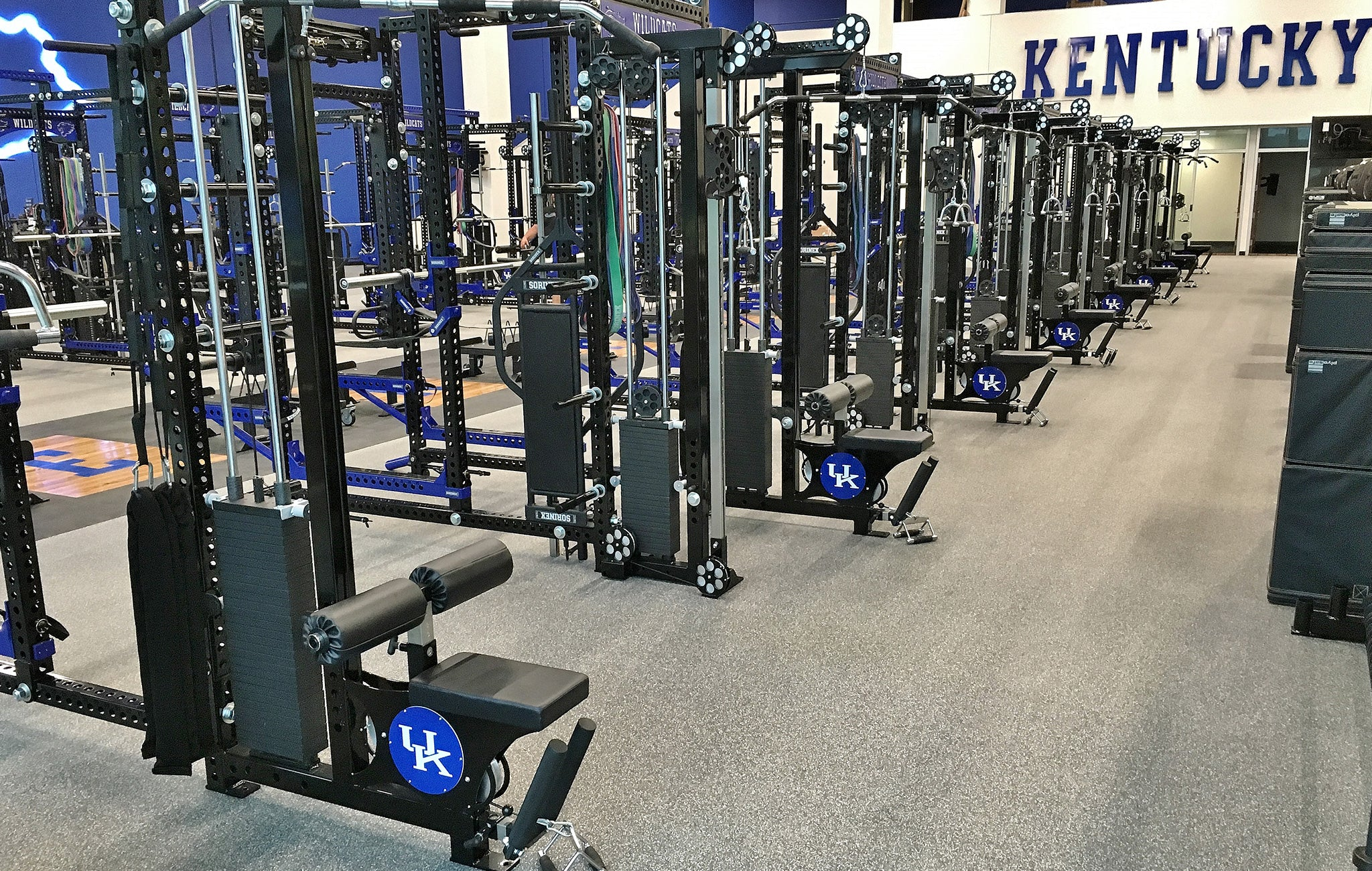 University of Kentucky strength training facilities