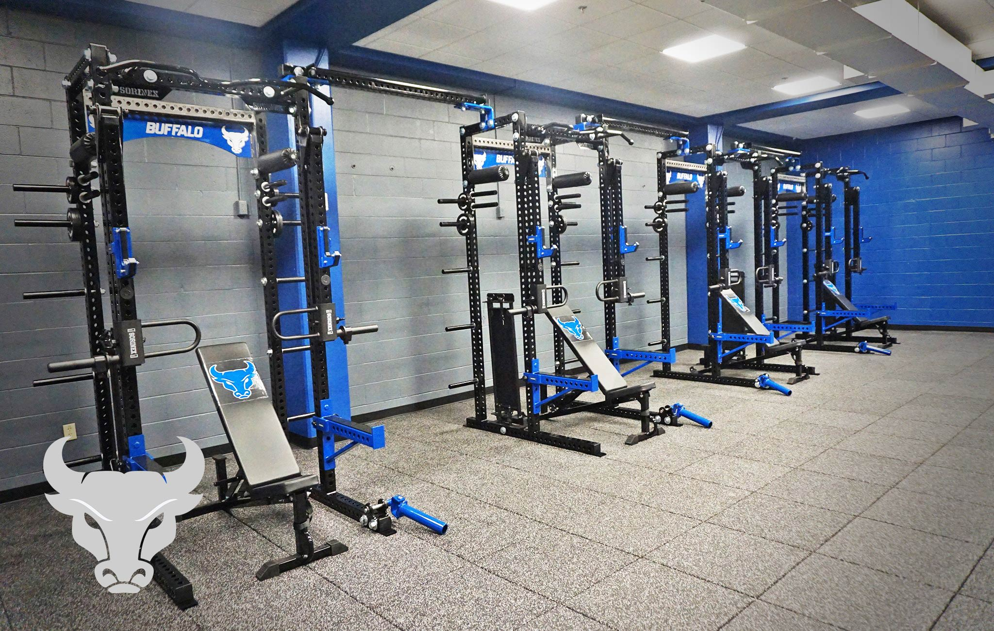 University of Buffalo Sorinex strength and conditioning facility