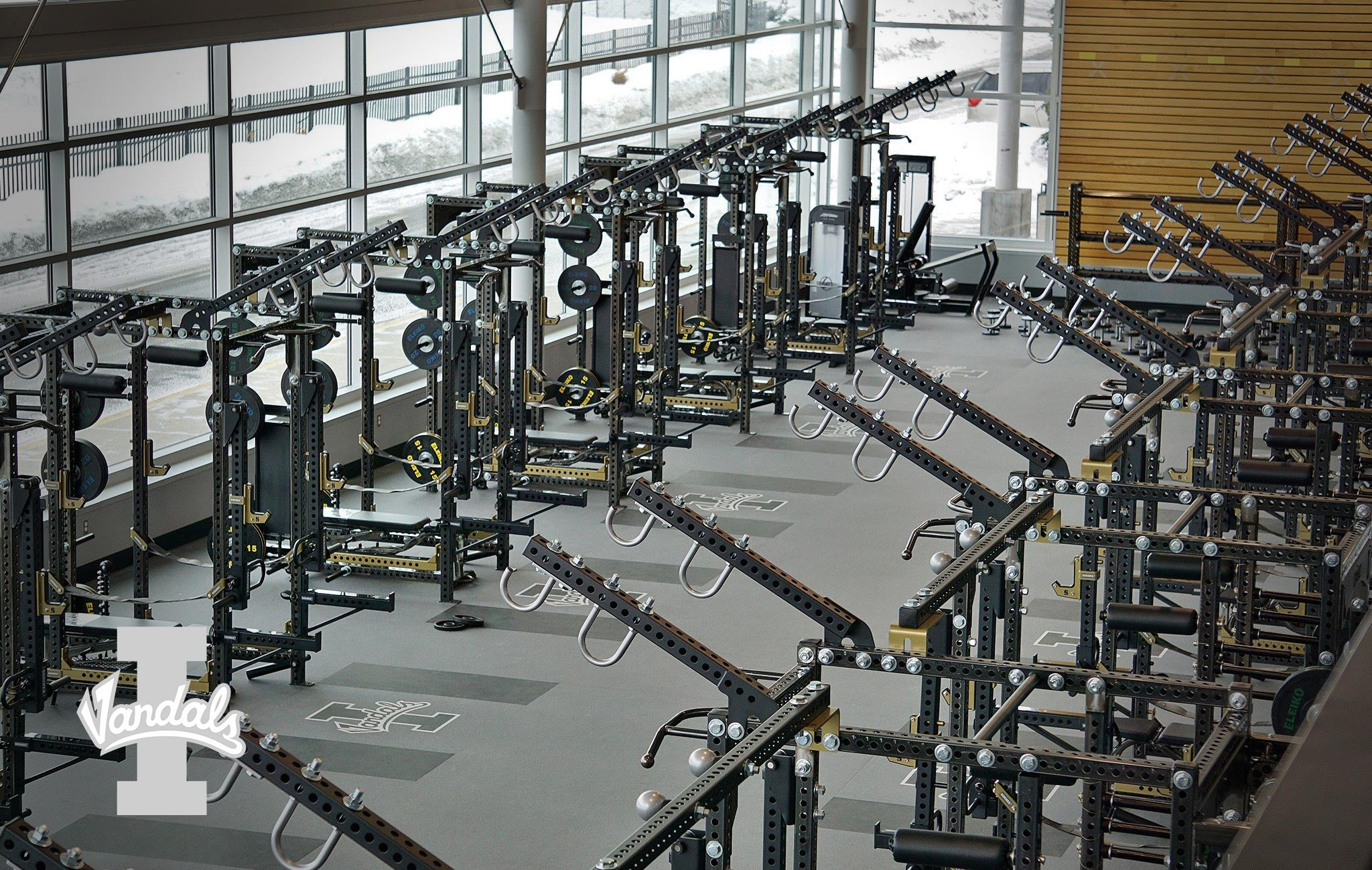 University of Idaho Sorinex strength and conditioning facility