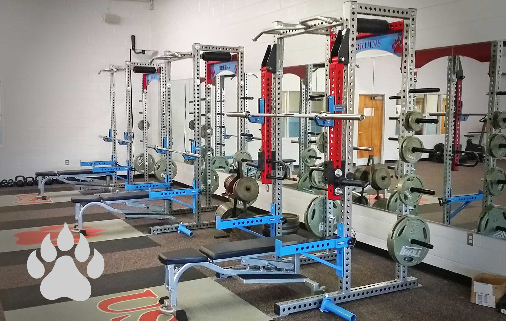 University School of Jackson Sorinex strength and conditioning facility