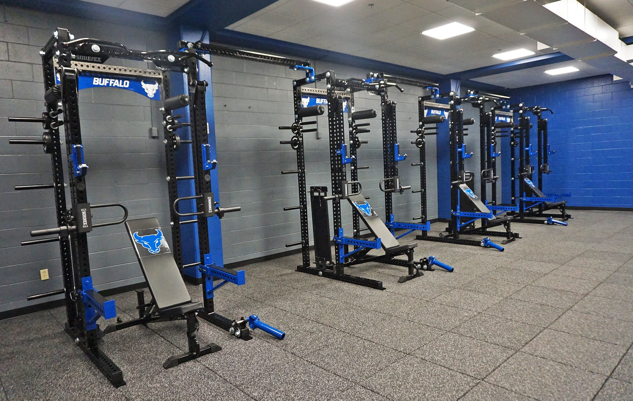 University of Buffalo Weight Room
