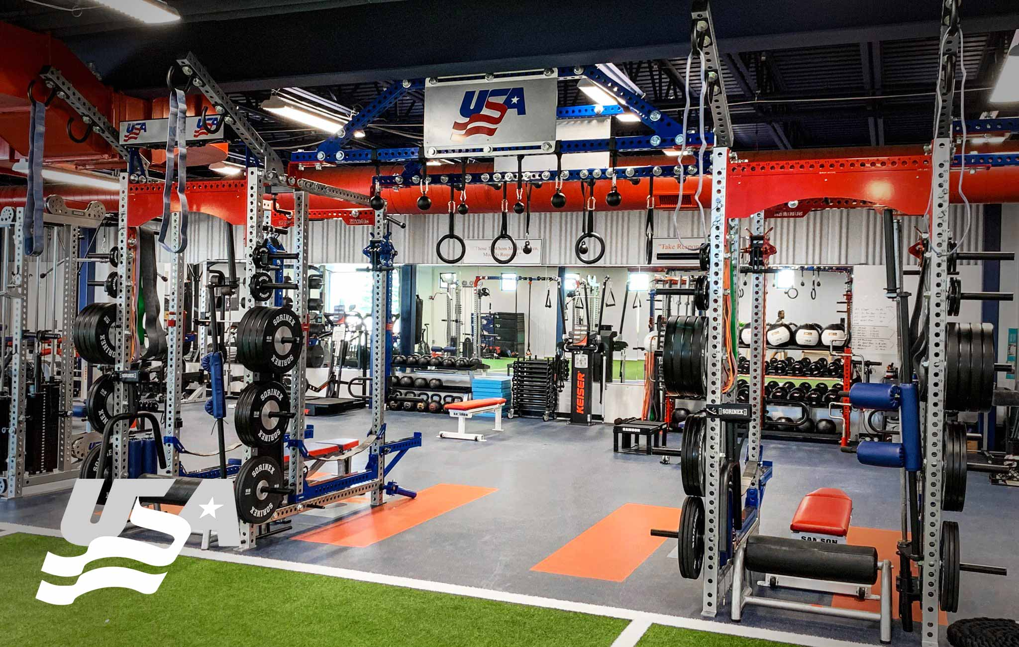 USA hockey Sorinex strength and conditioning facility
