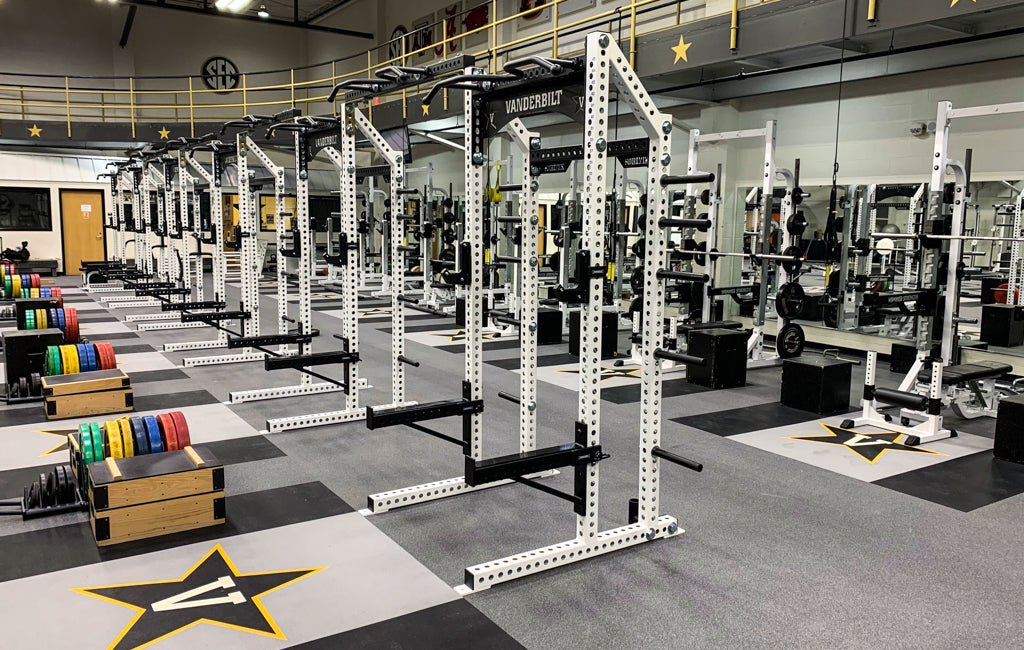 Vanderbilt University olympic Weight Room
