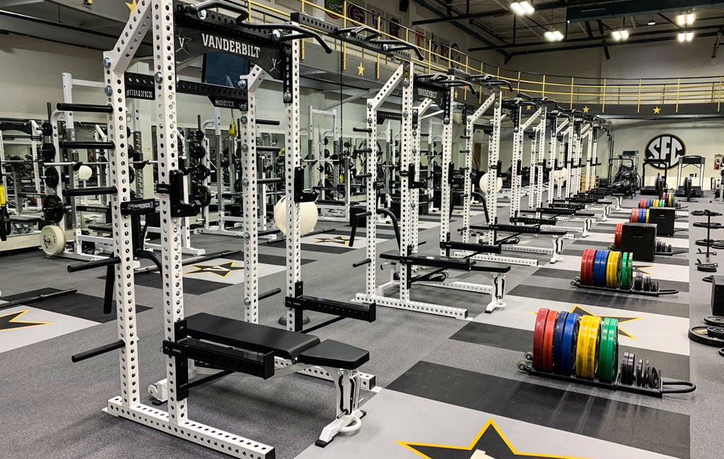 college strength facilities