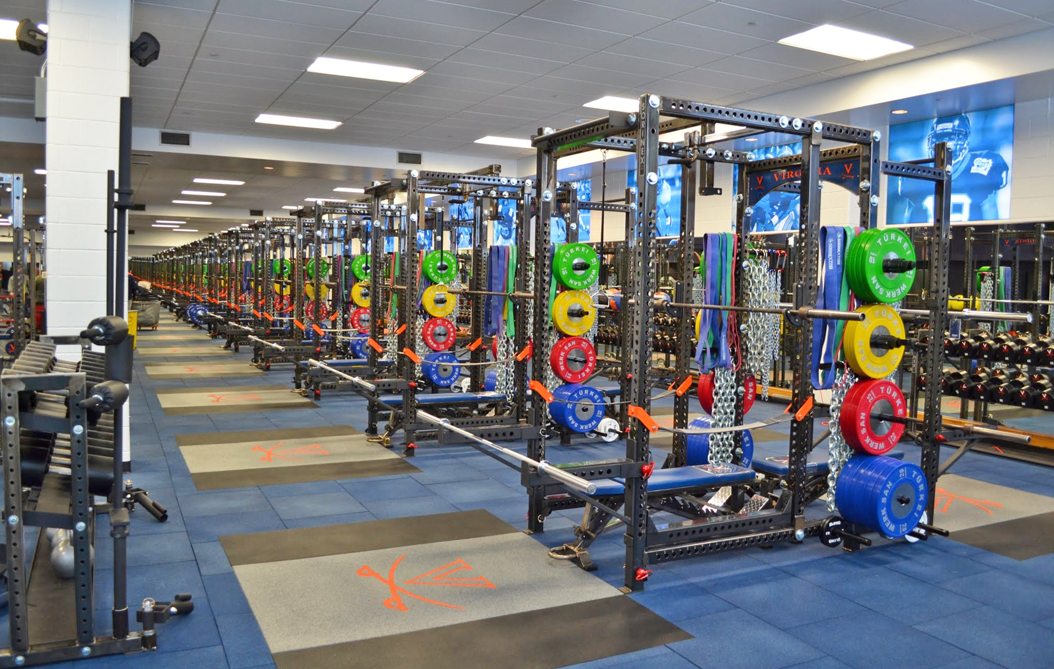 University of Virginia Weight Room