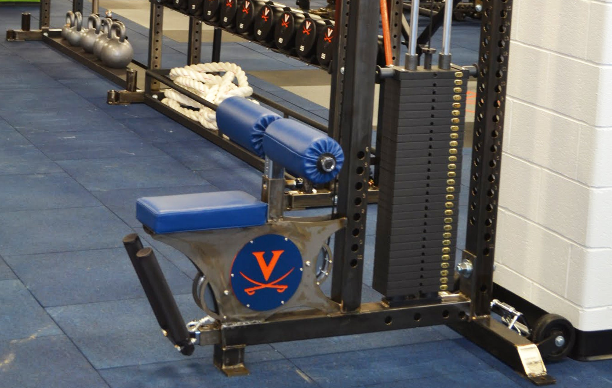 University of Virginia strength training facility