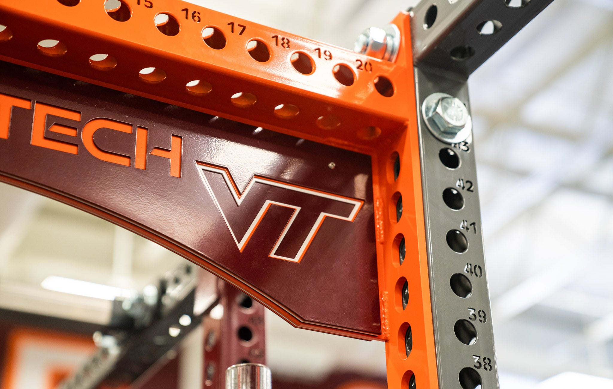 Virginia Tech Bumper Plate