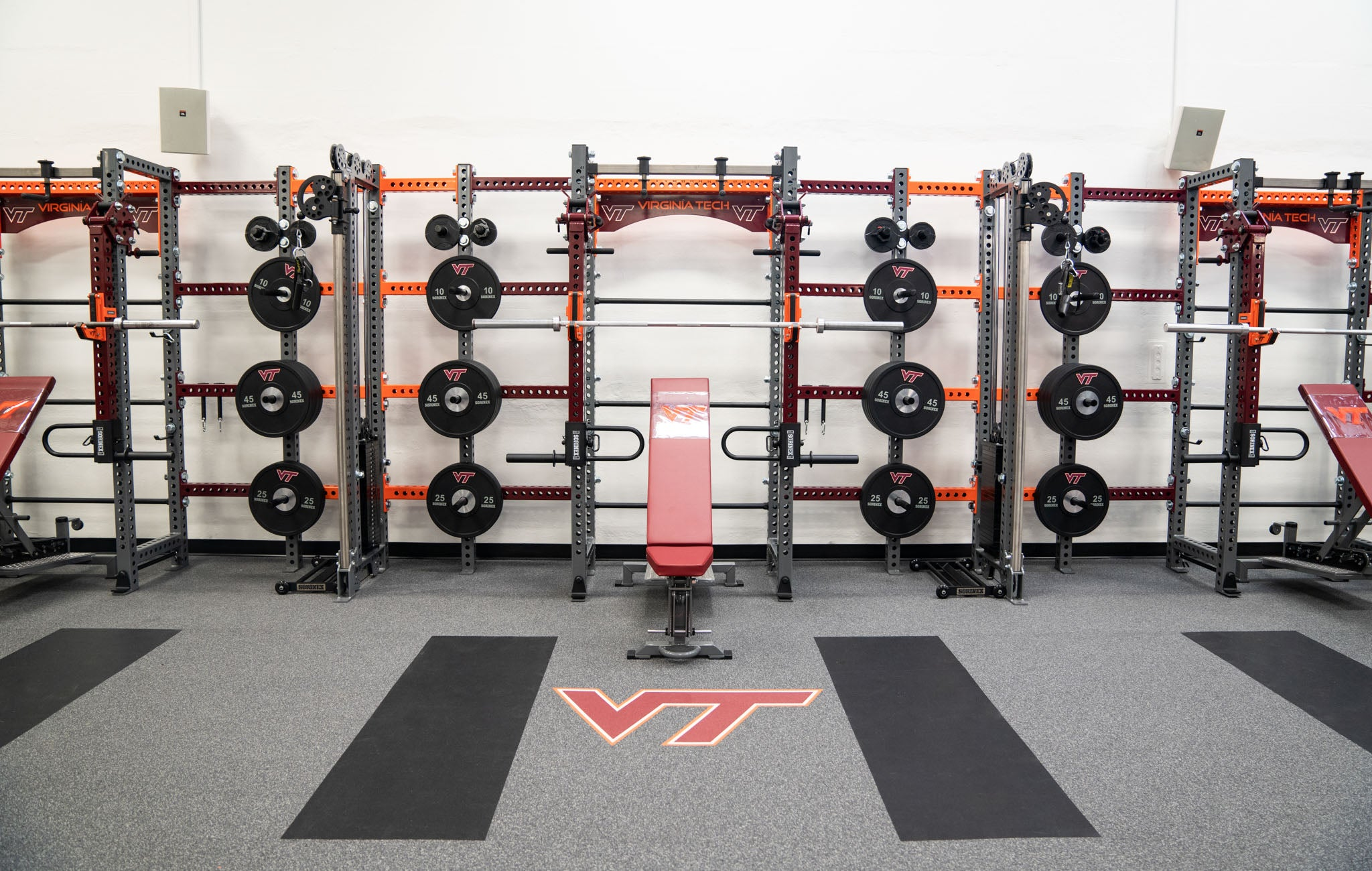 Virginia Tech Iron Bear Storage