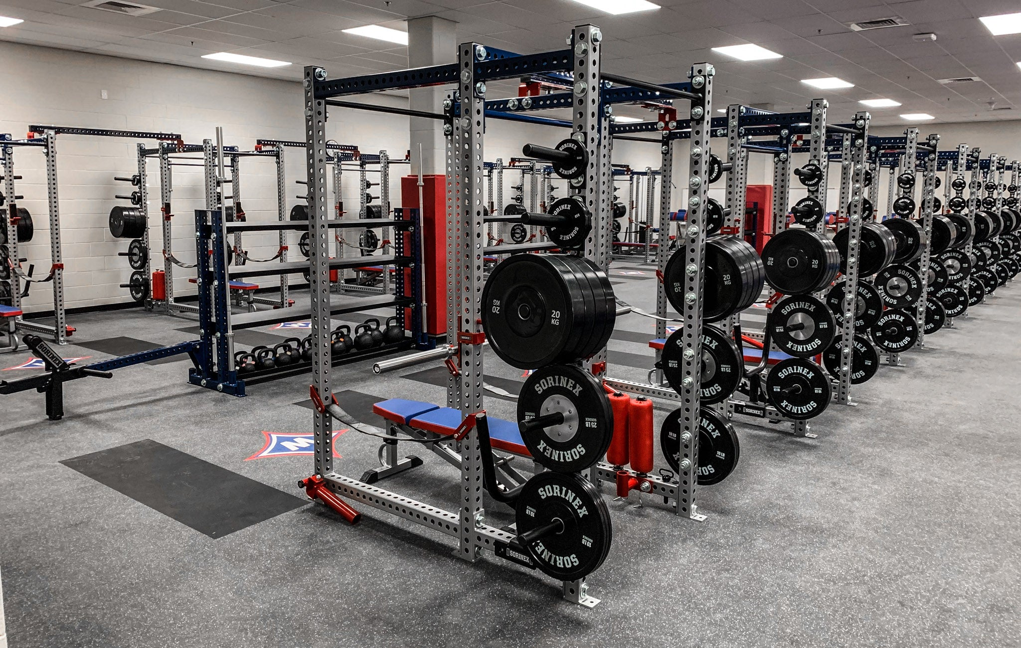 Walton High School strength and conditioning