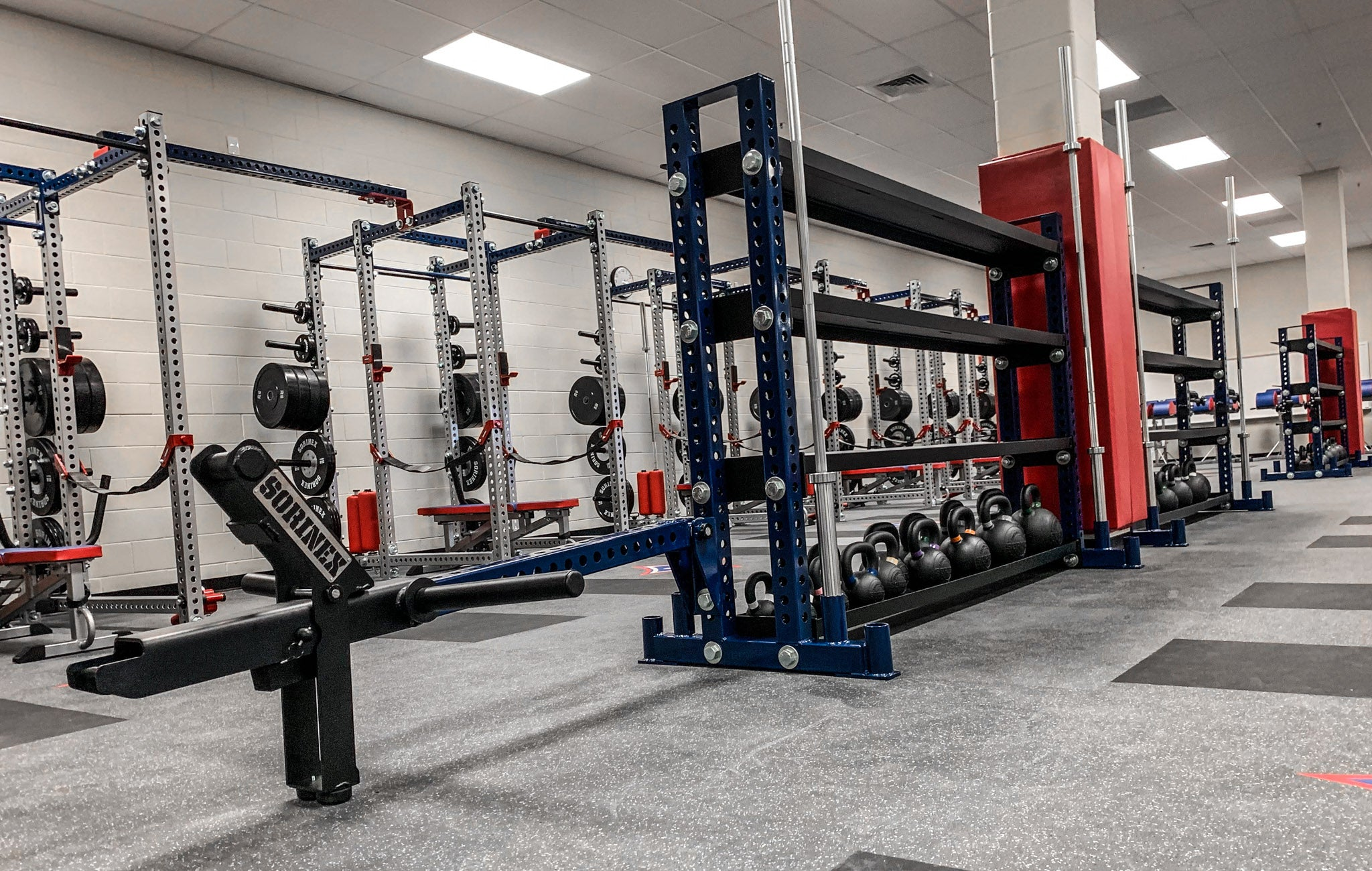 walton High School training facility