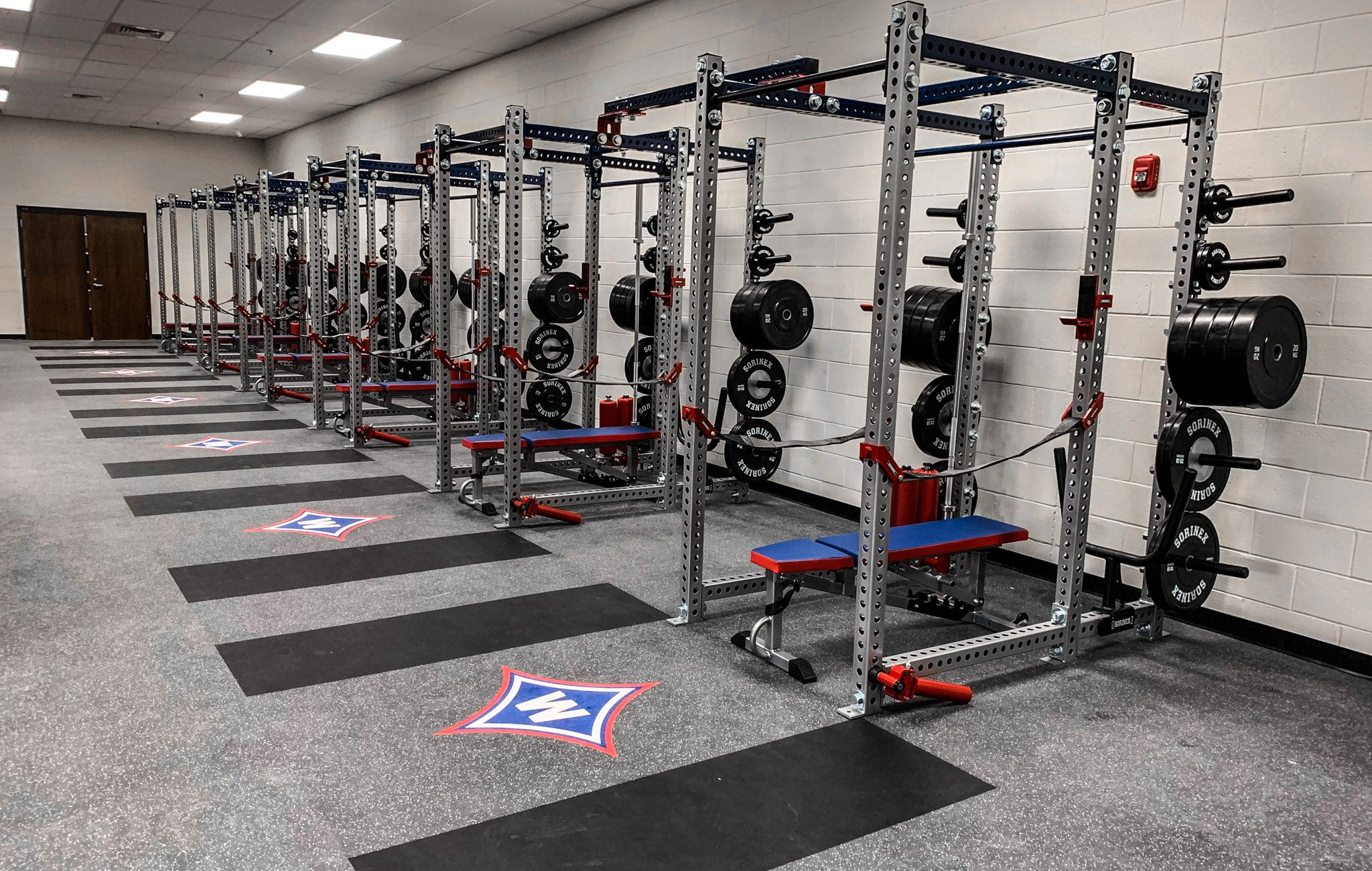 Walton High School Weight Room