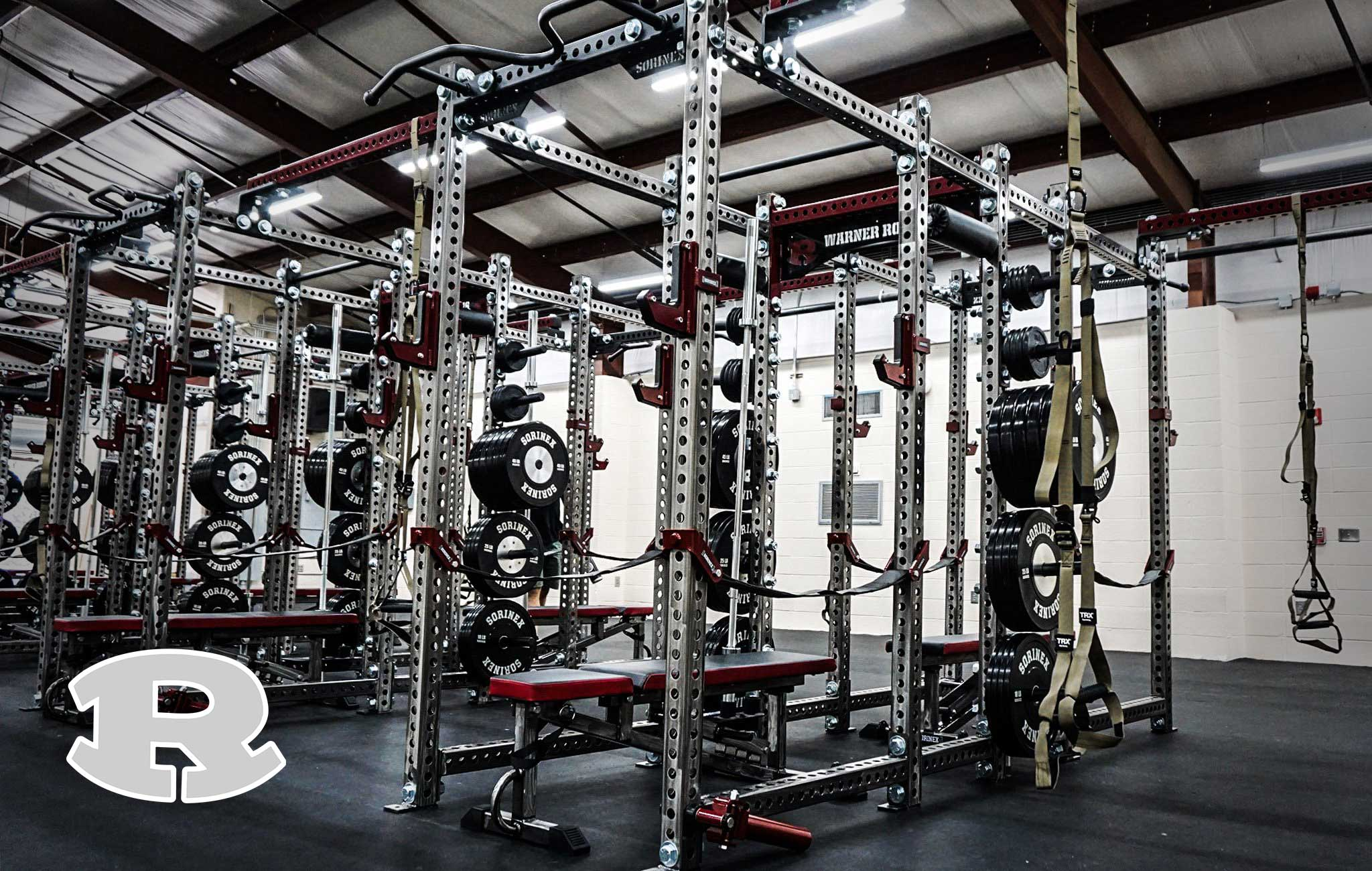 Warner Robins high school Sorinex strength and conditioning facility