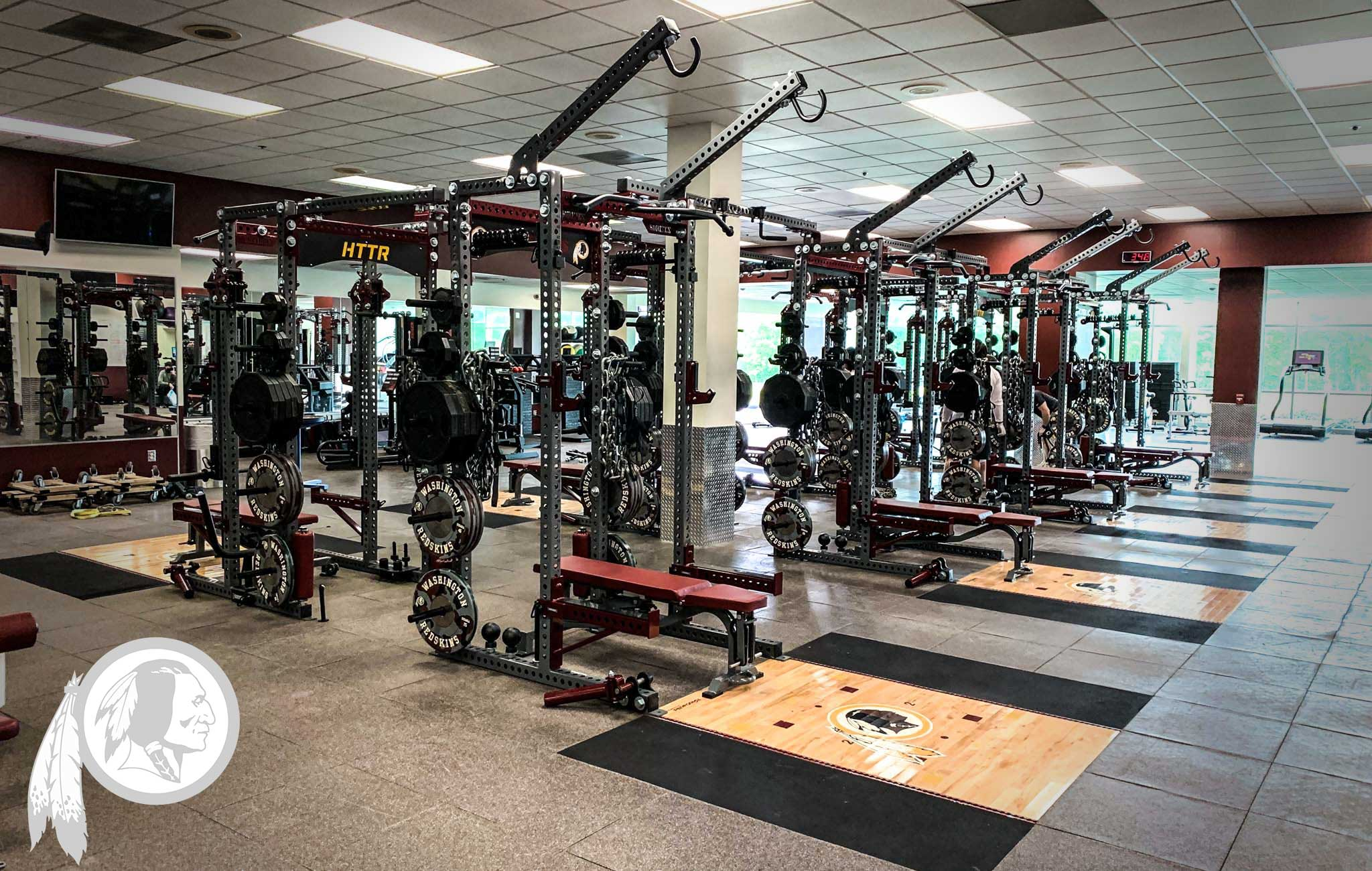 Washington Redskins Sorinex strength and conditioning facility