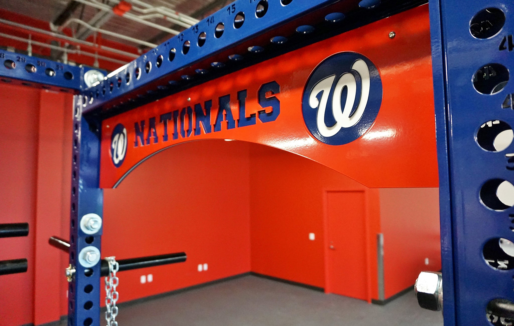 Washington Nationals strength and conditioning