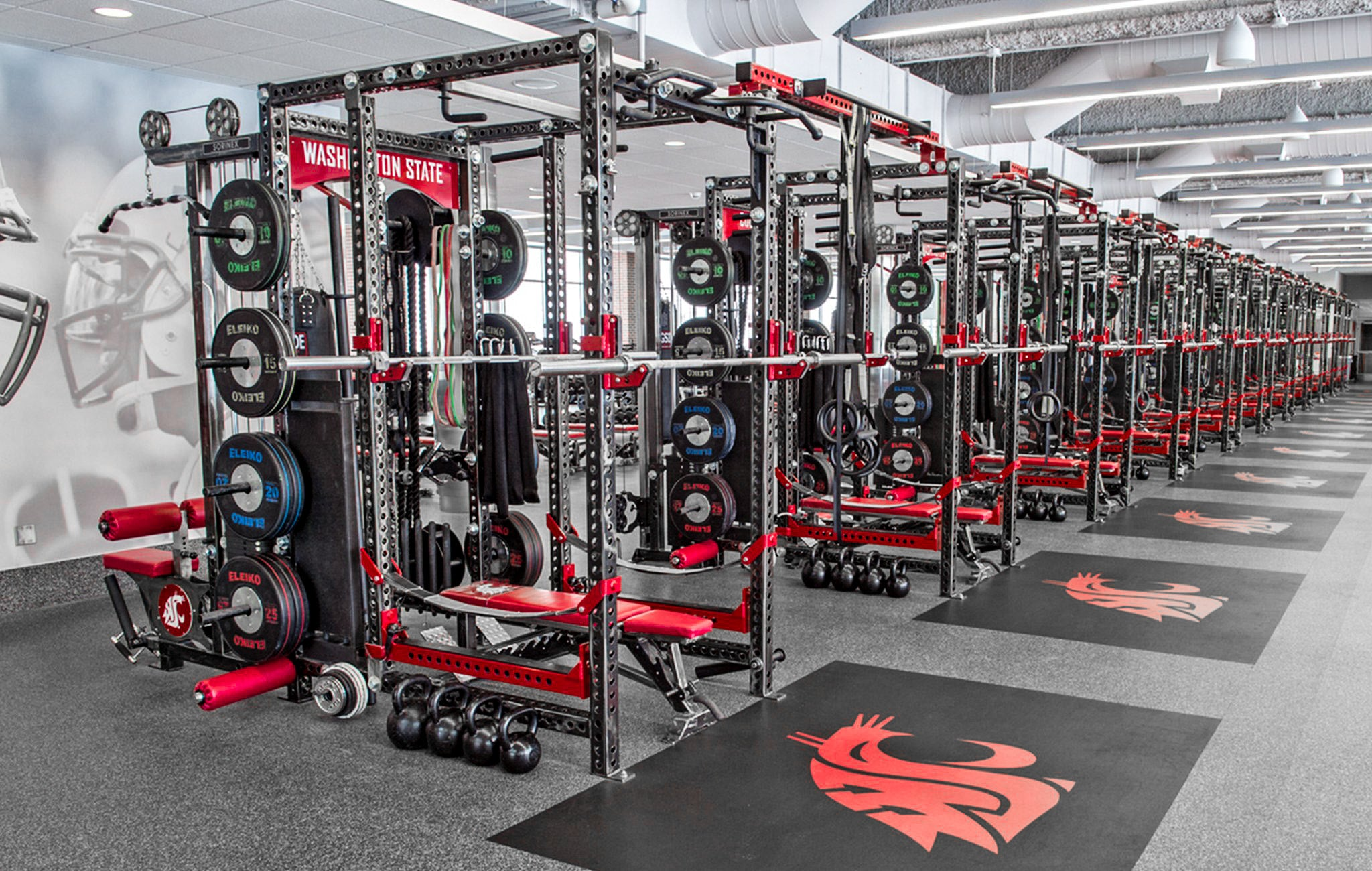 Washington State University Weight Room