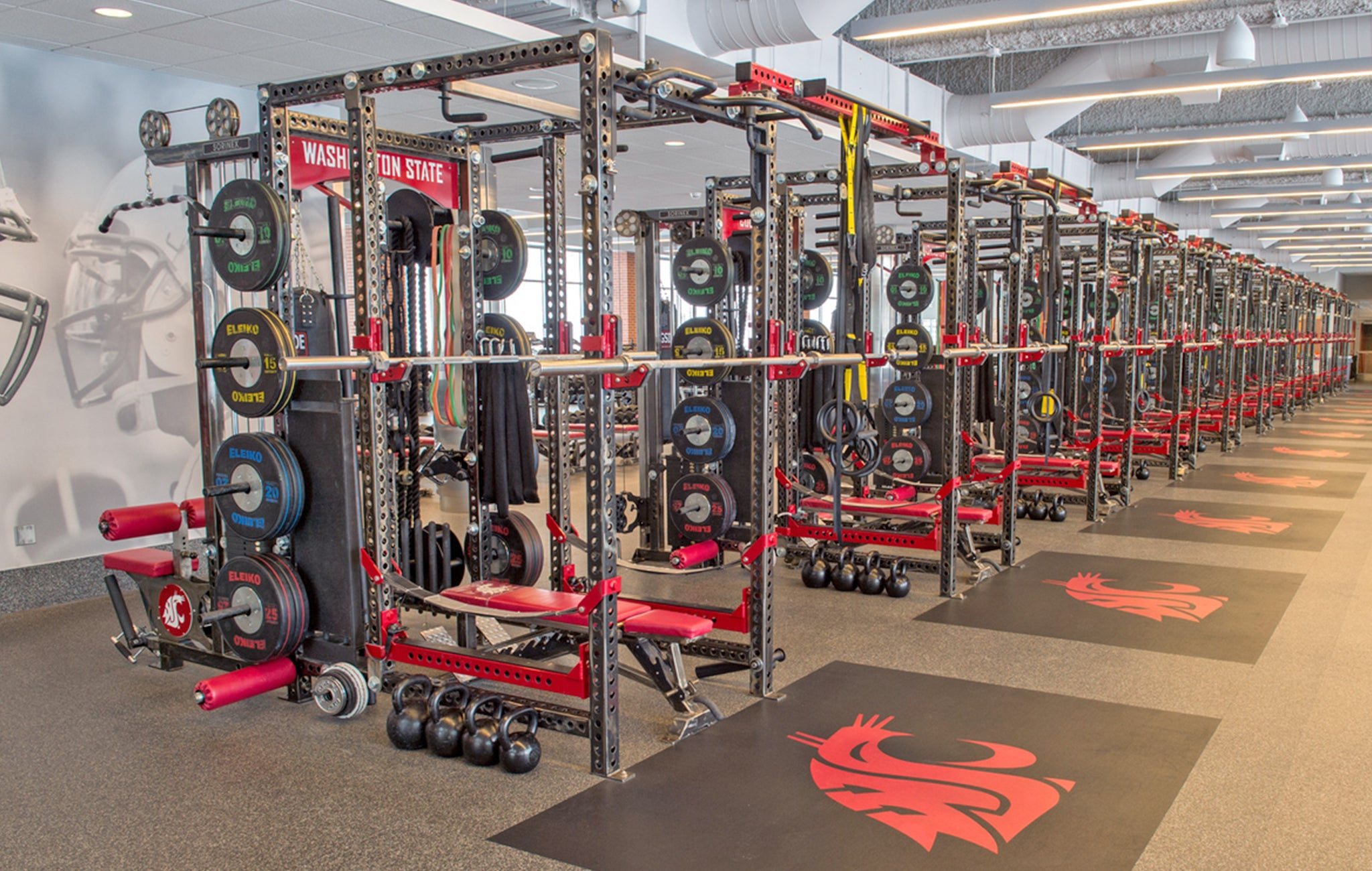 Washington State University strength and conditioning