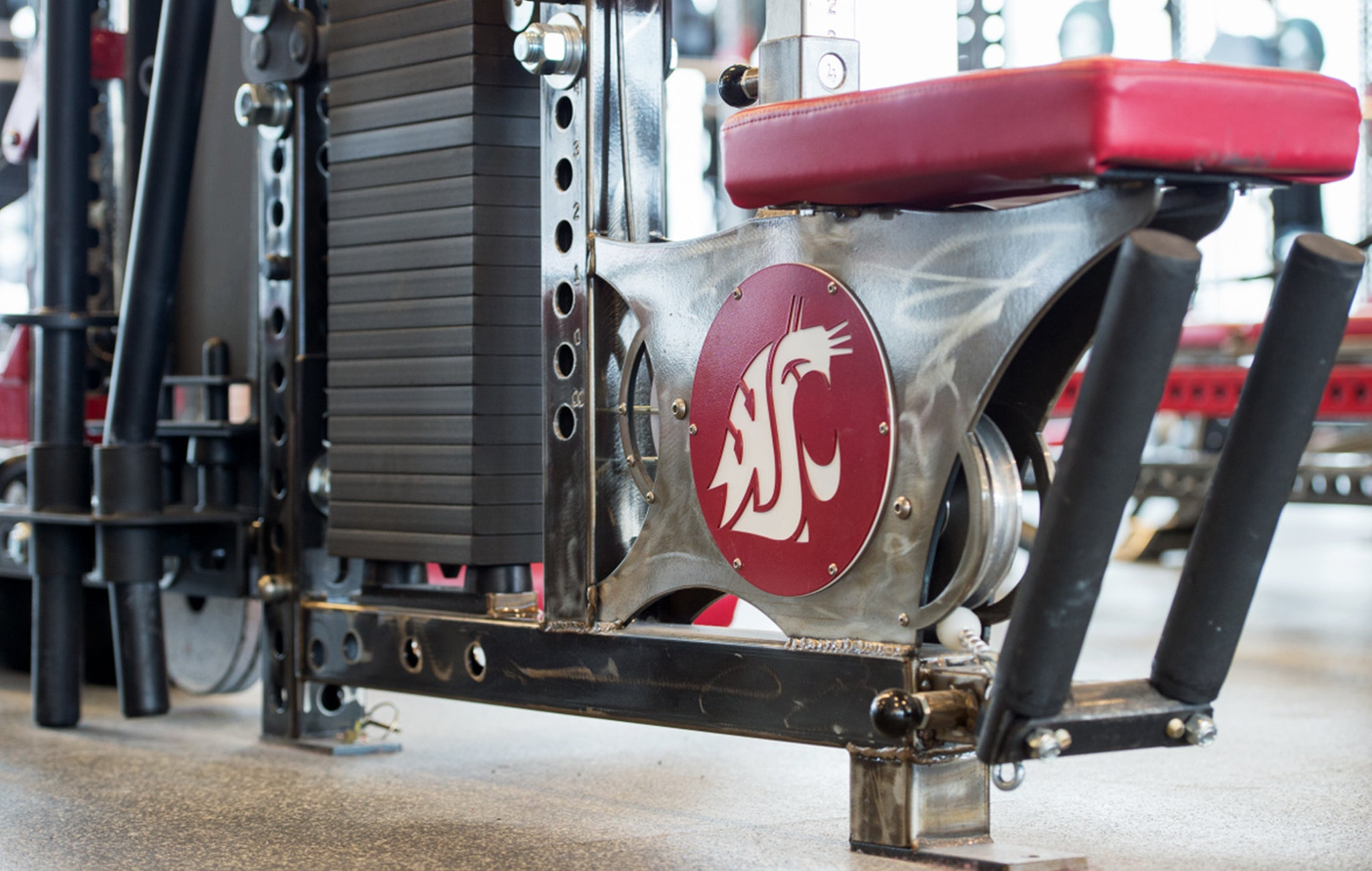 Washington State University strength taining facility