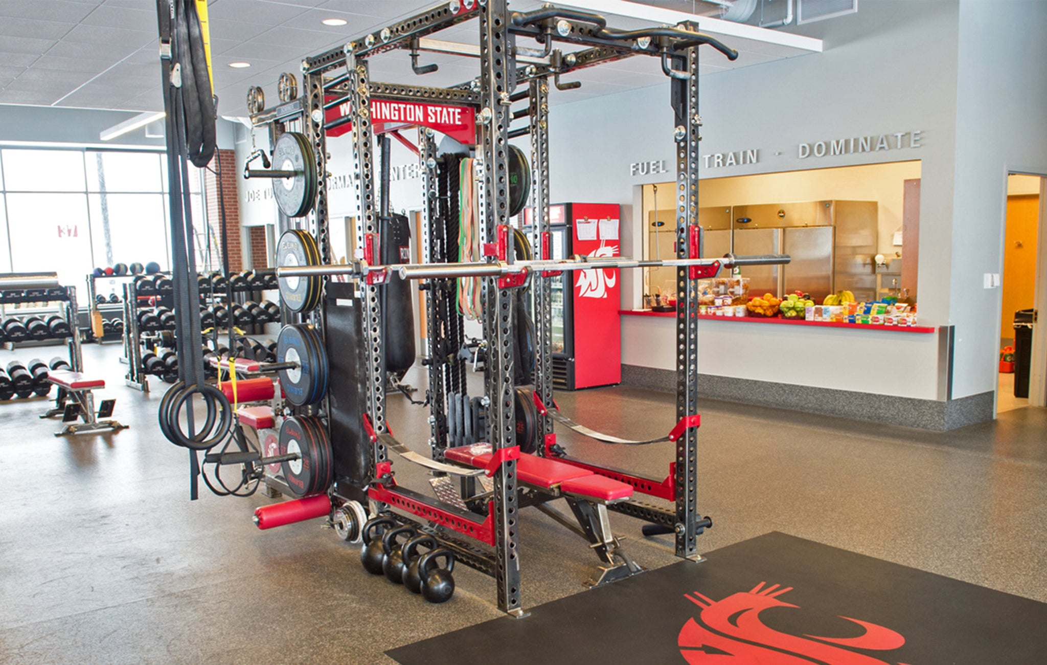 Washington State weight room
