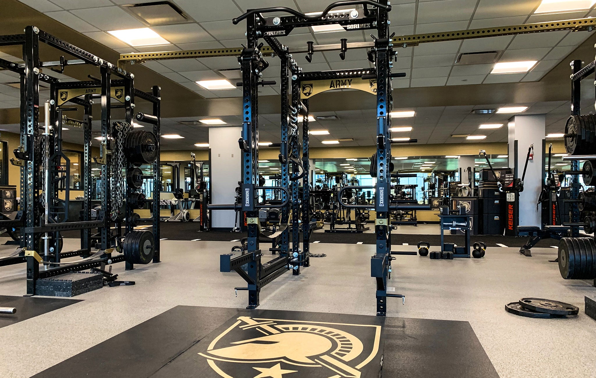 West Point Football strength and conditioning