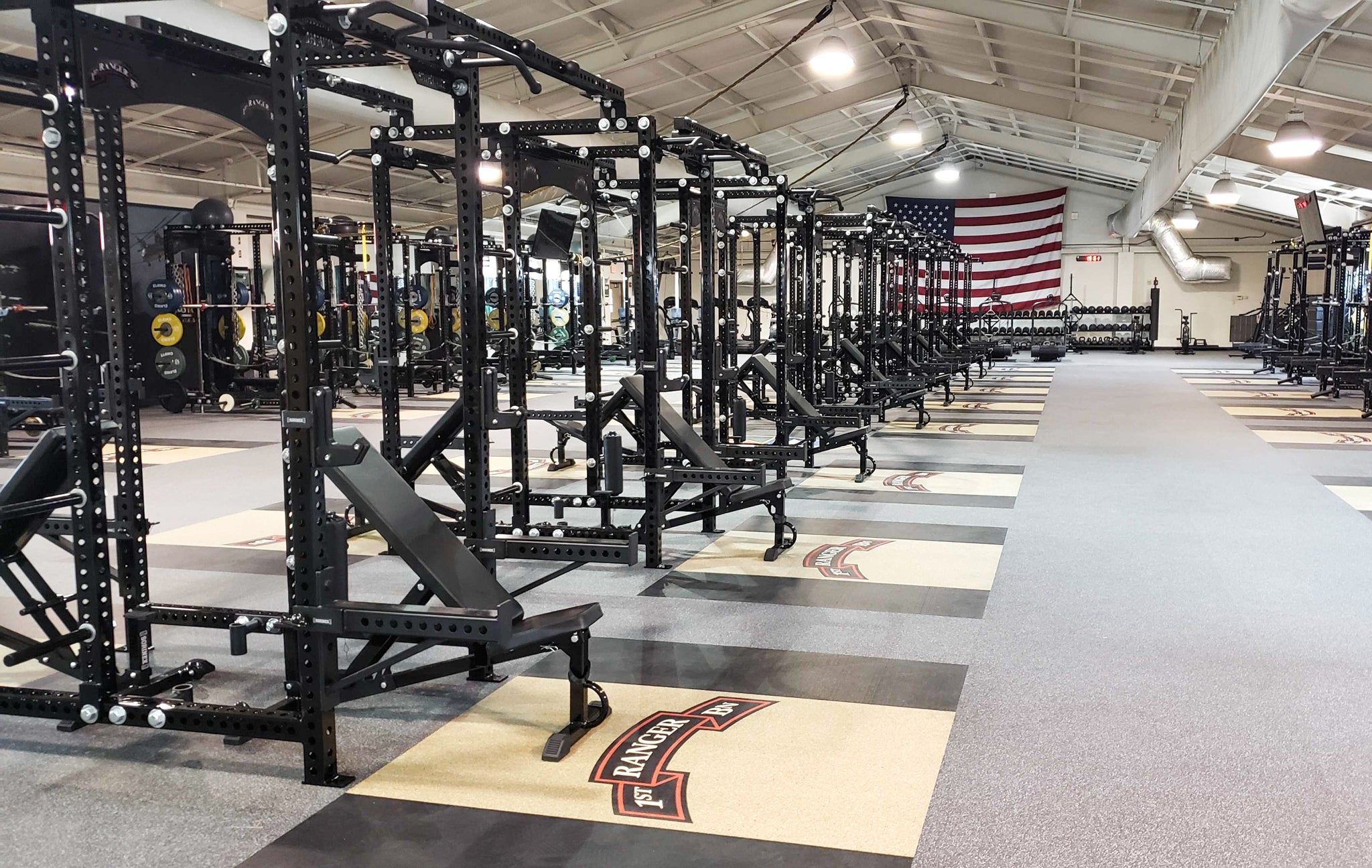 1/75 Rangers Military Weight Room