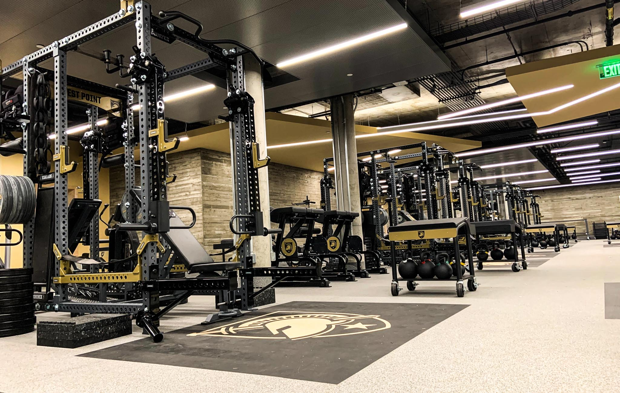 West Point Weight Room
