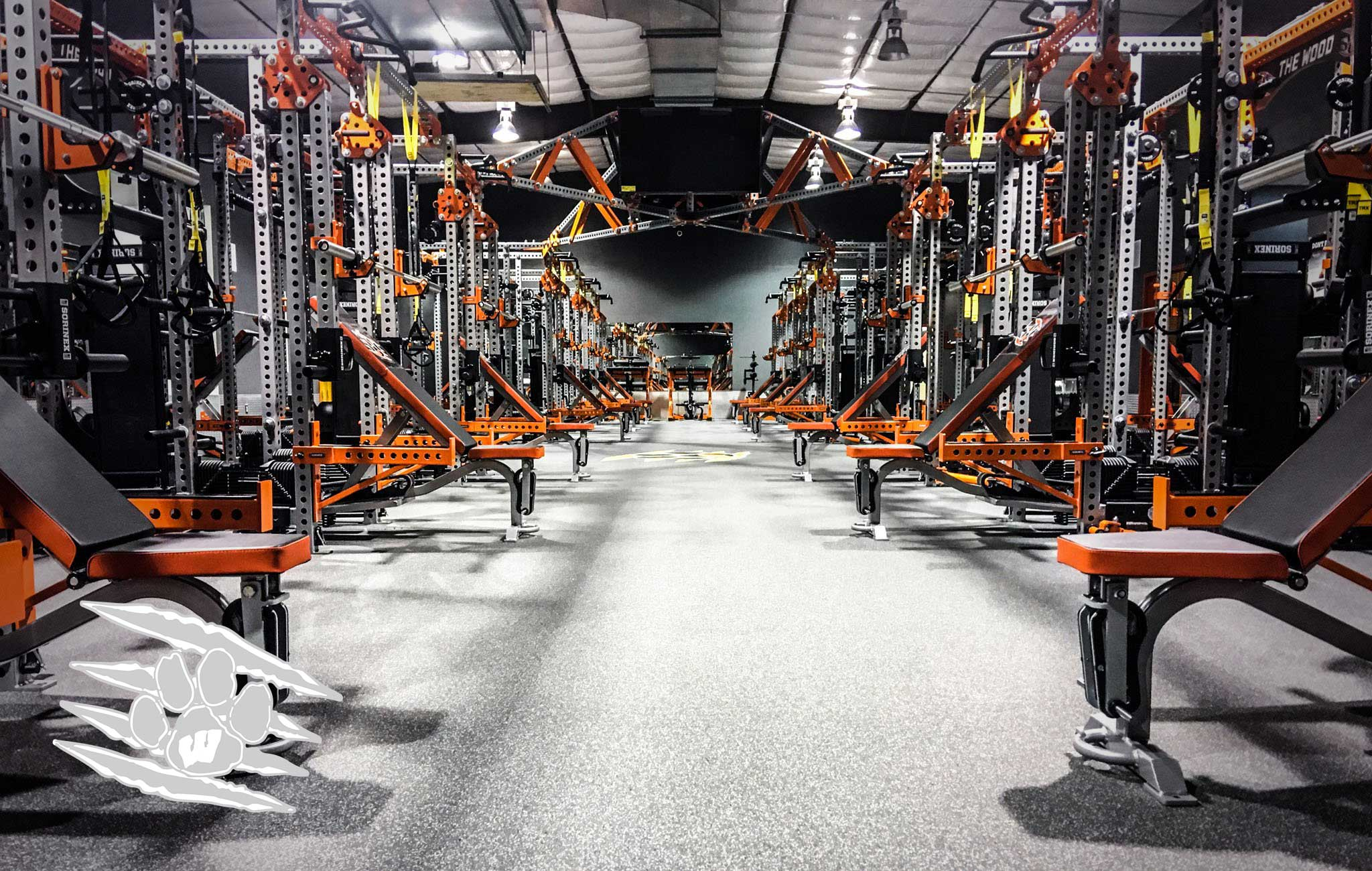 Westwood High School Sorinex strength and conditioning facility