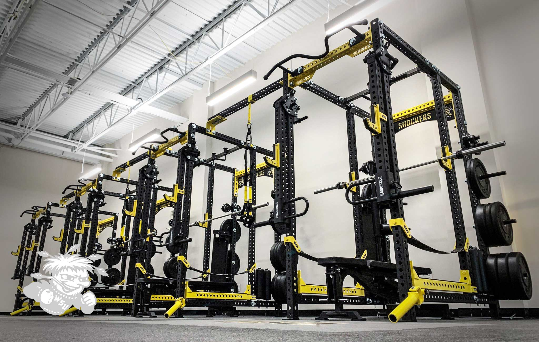 WICHITA STATE UNIVERSITY Sorinex strength and conditioning facility
