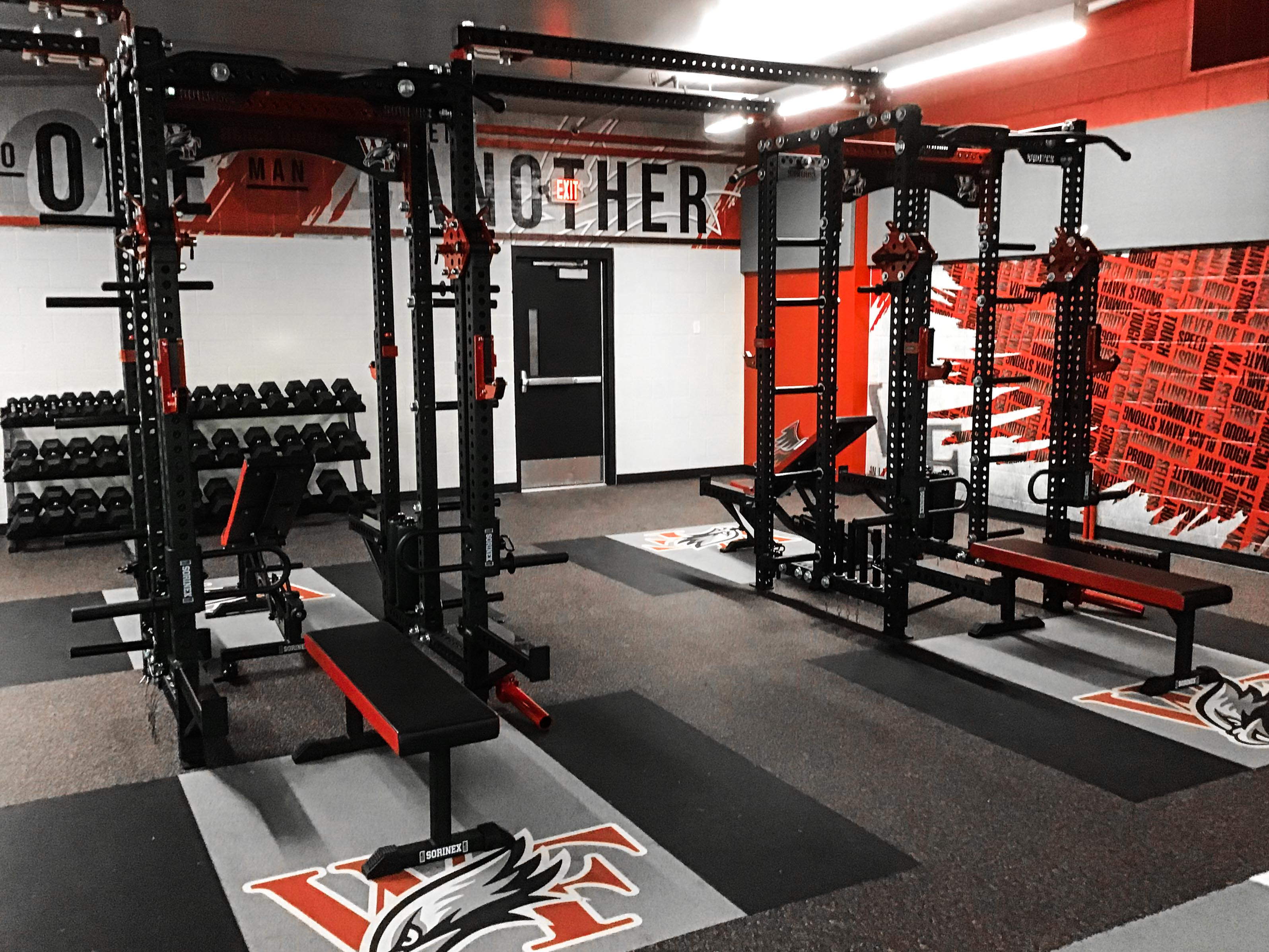 William Field High School Weight Room