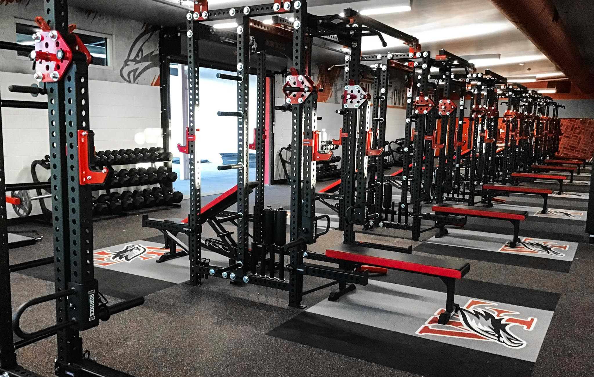 William Field High School strength and conditioning