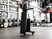 Sorinex Adjustable Stand Up Bench with Spotter steps