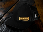 Sorinex black leather hat