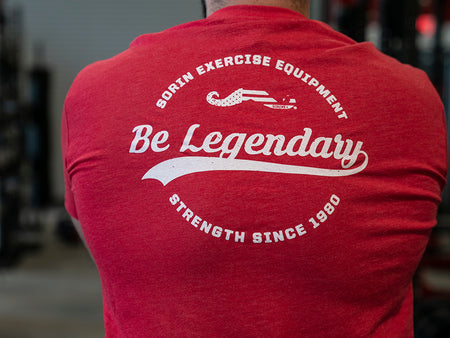 Red Be Legendary Vintage Sorin Exercise Tee