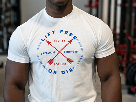 Lift Free Red White and Blue Tee