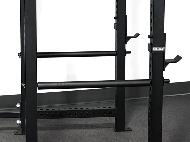 Dark Horse Pipe Style Spotter Bars, weightlifting rack