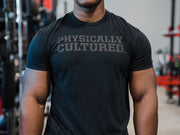 Sorinex Physically Cultured Black on Black T shirt