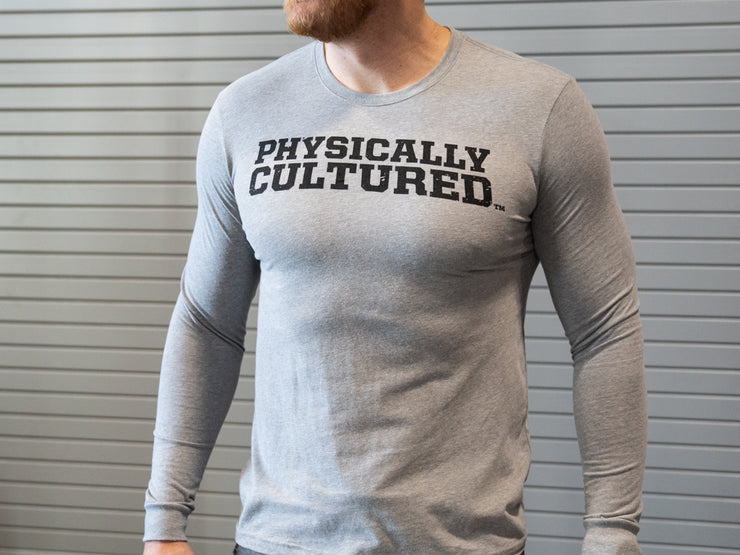 Sorinex Physically Cultured Long Sleeve T-Shirt, Fall Apparel