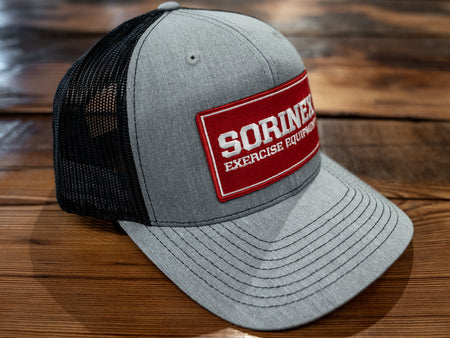 sorinex grey patch hat