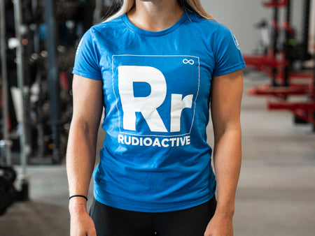 rudioactive women's shirt