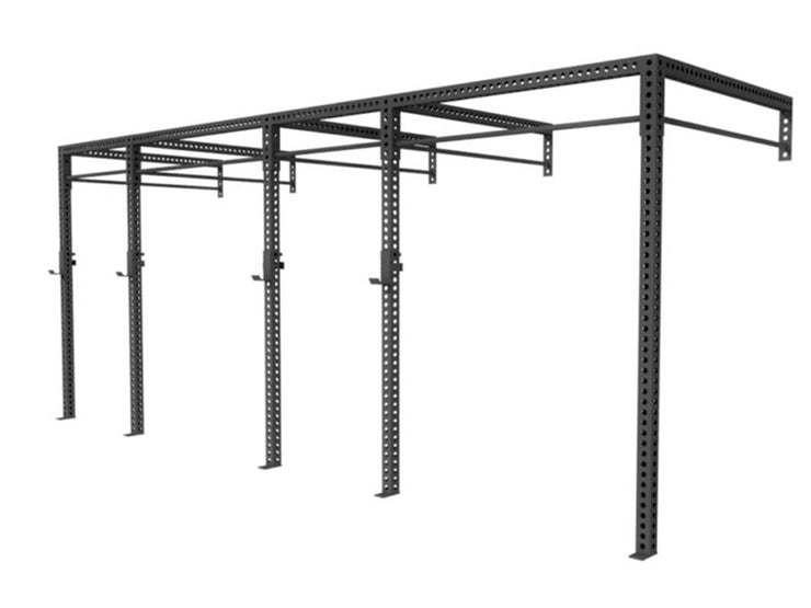 XL Series 20' Wall Mount rig, weightlifting rack