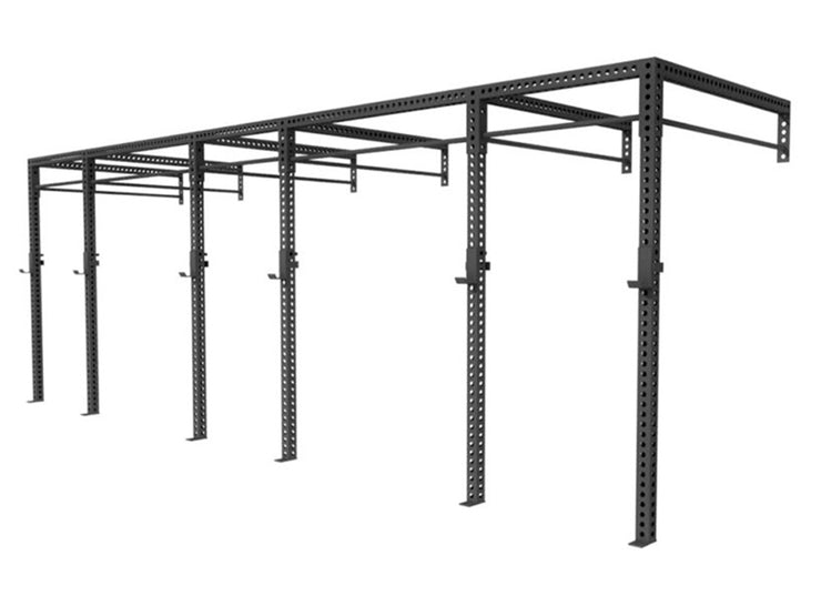 XL Series 24' Wall Mount Rig, weightlifting rack