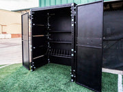 strength training equipment storage