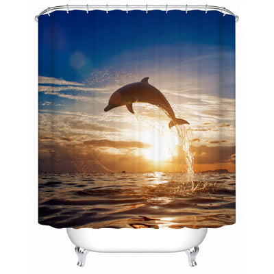 Shower Curtain Sea Decor