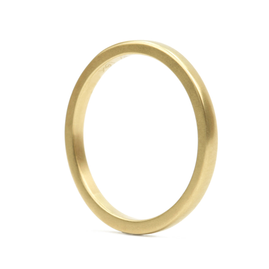 Marian Maurer Square Plain Band 2 mm