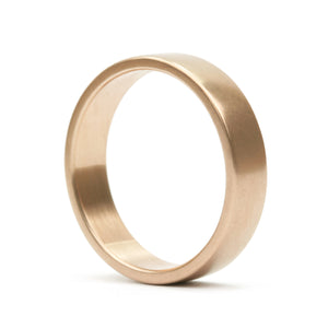 Square Plain Band 5 mm