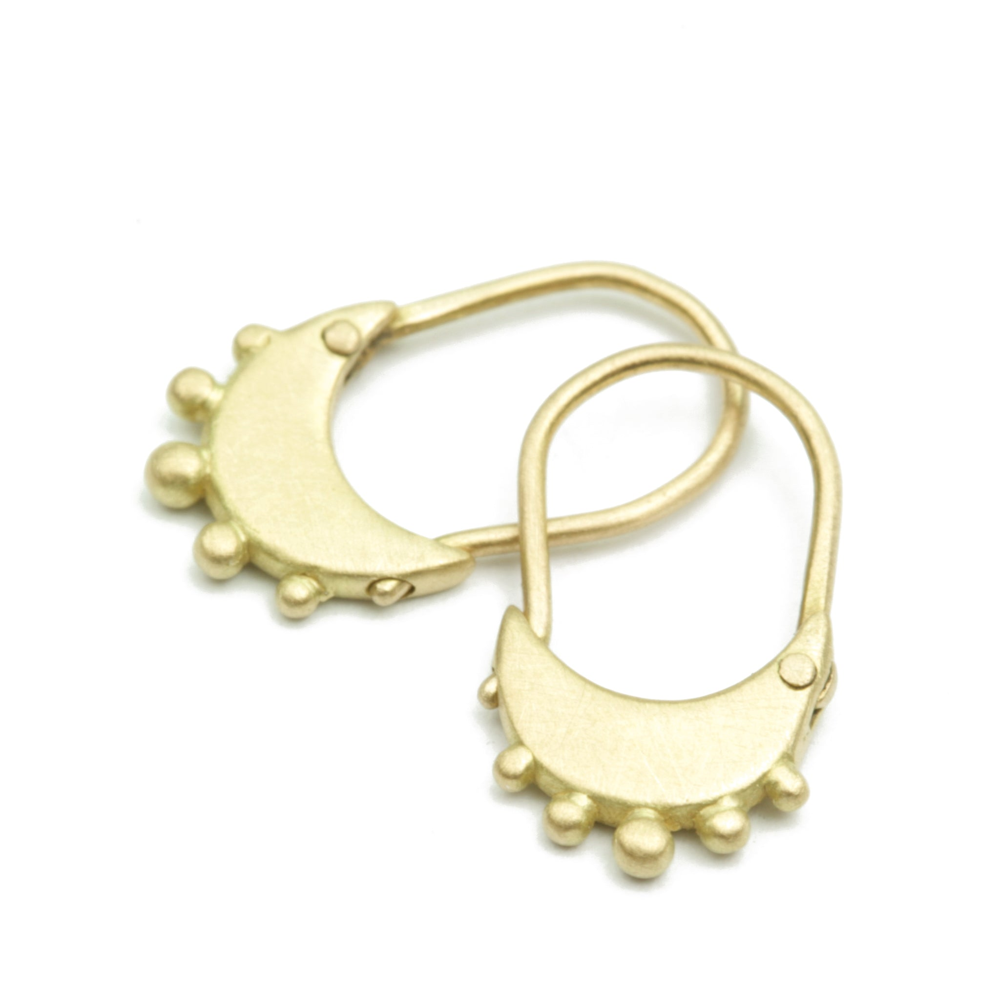 Zoe Hoops with Granulation