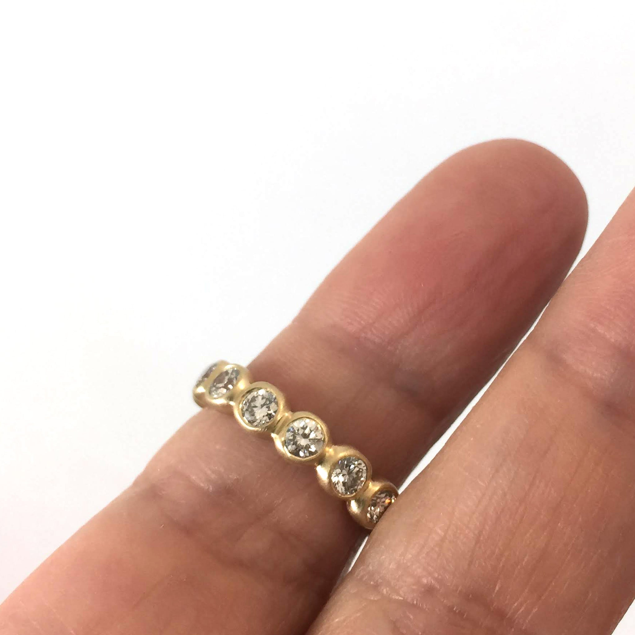 Porch Band with 3 mm diamonds
