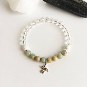 Power of Tranquility Bracelet - Choose Your Charm